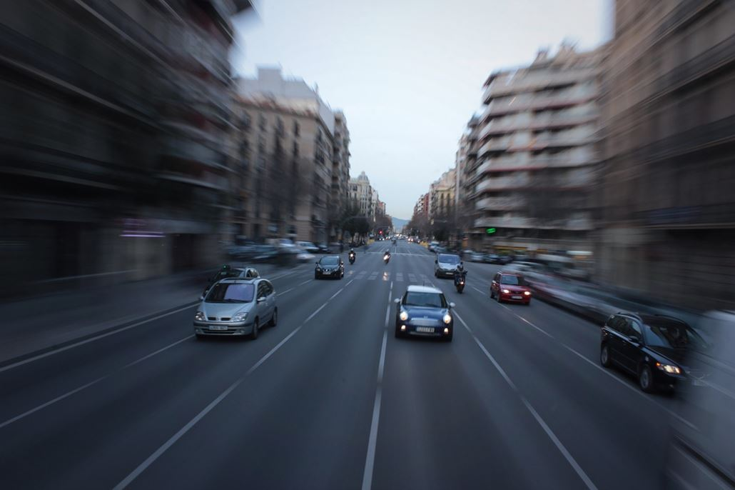barcelona-auto-verkehr