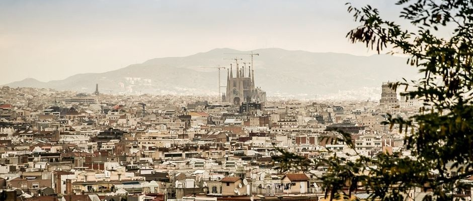Barcelona Panorama Ausblick