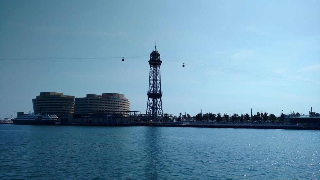 Seilbahn Hafen Barcelona