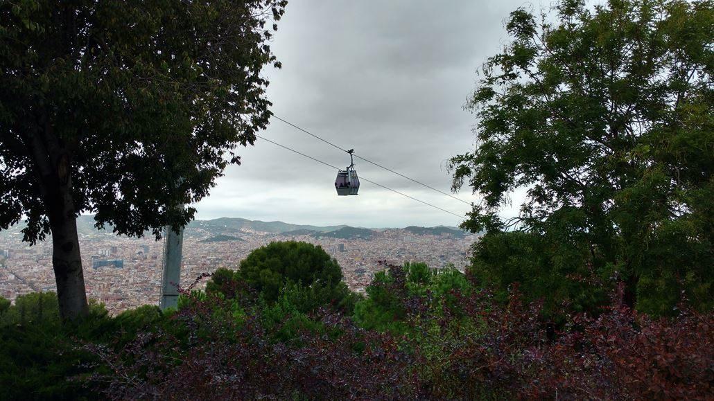 Teleferic de Montjuic Barcelona