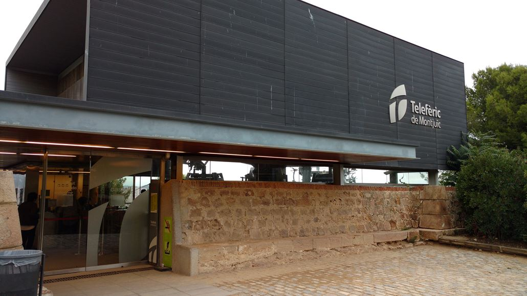 Teleferic de Montjuic Station