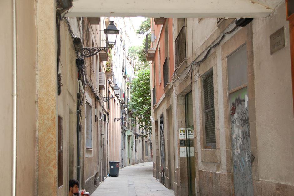 Barrio Gotico Barcelona Altstadt