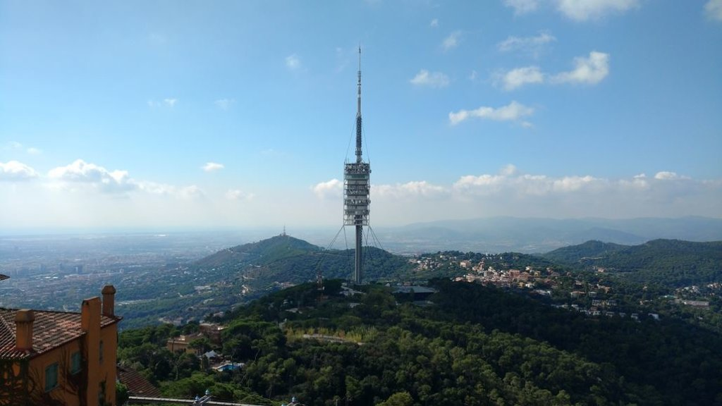 Torre de Collserola Fernsehturm Barcelona