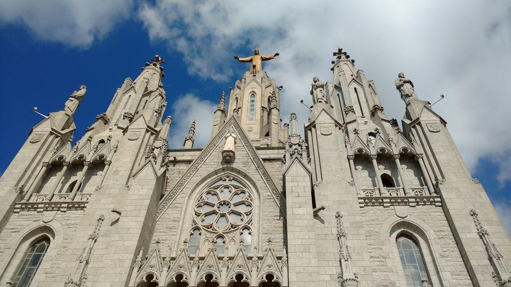 Kirche Tibidbao Barcelona