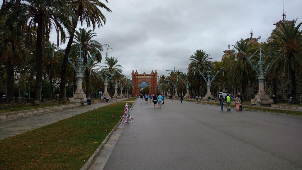 arc de triomf barcelona