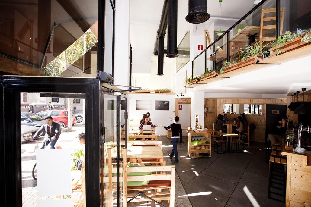 Café Menssana Restaurant Barcelona