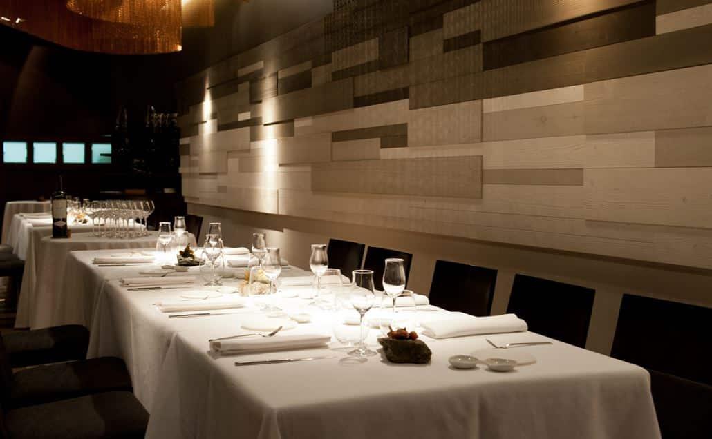 Cinc Sentits Restaurant Barcelona