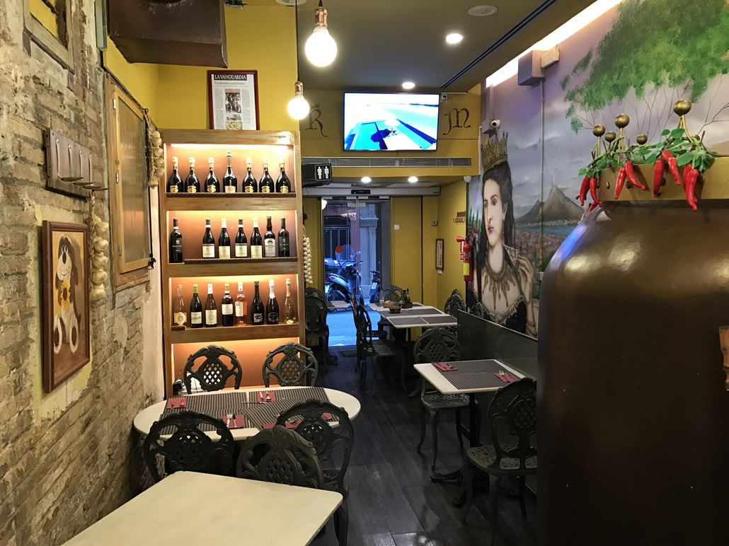Reina Margherita Restaurant Barcelona