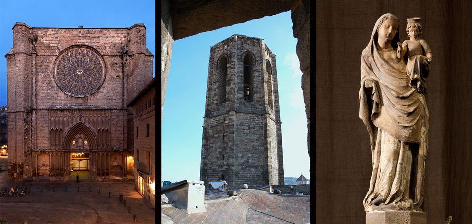 Basílica Santa Maria del Pi Barcelona
