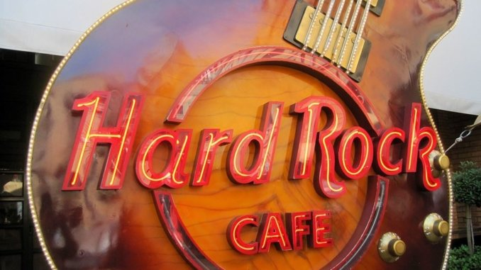 Hard Rock Cafe Barcelona Gitarre