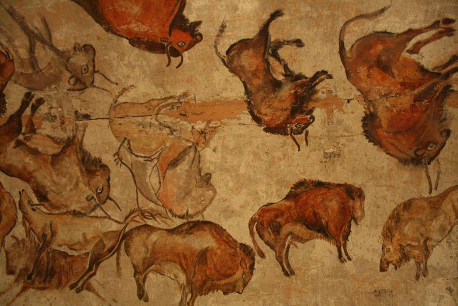 Museu del Mamut Deckenmalerei