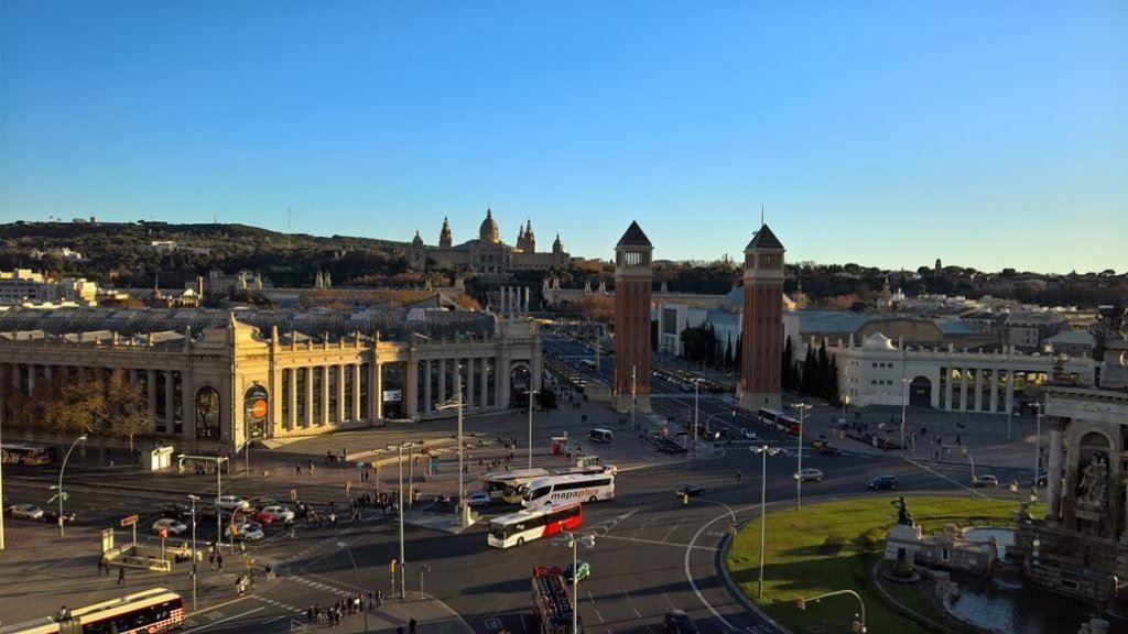 Barcelona-Las-Areans-Blick