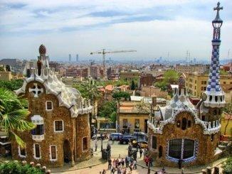 Barcelona Panorama View