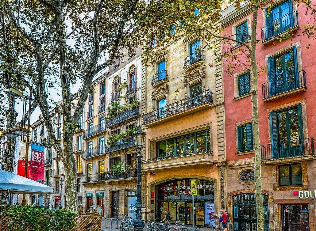 Geschäfte in Barcelona
