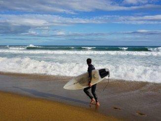 Surfen Barcelona Strand