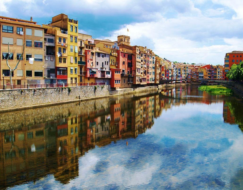 Girona Fluss