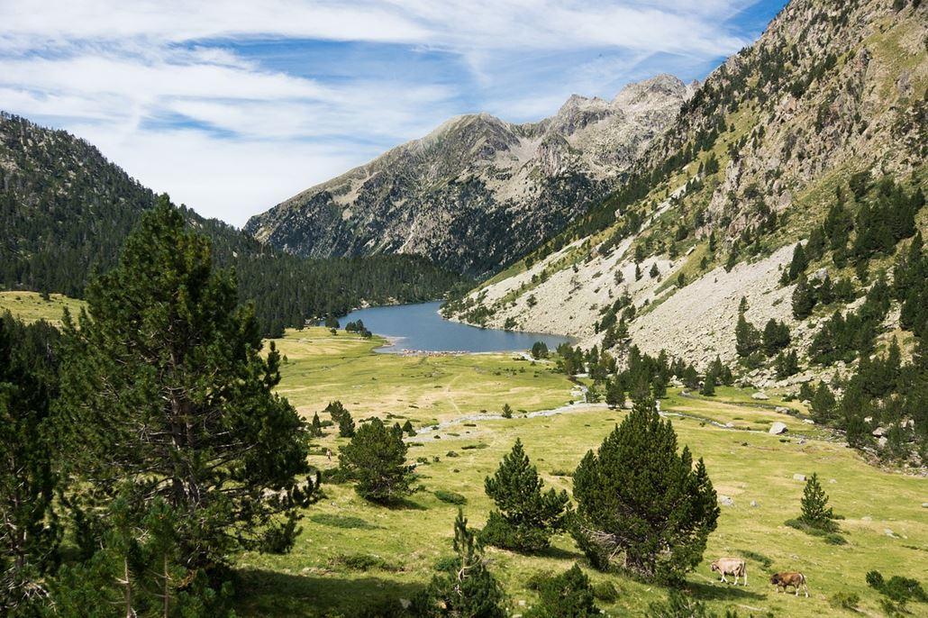 Pyrenäen Gebirge