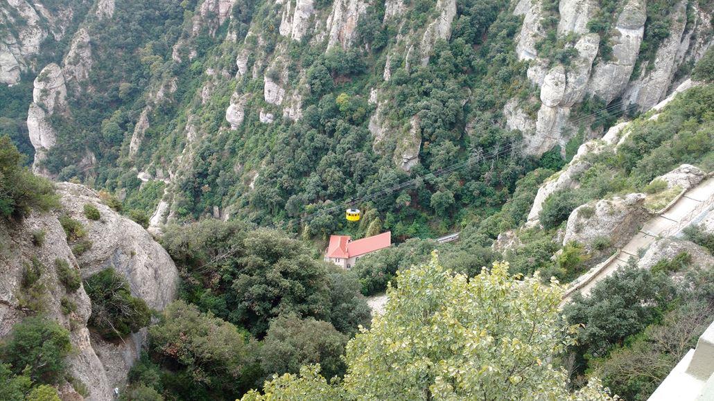 Funicular Aeri de Montserrat Seilbahn