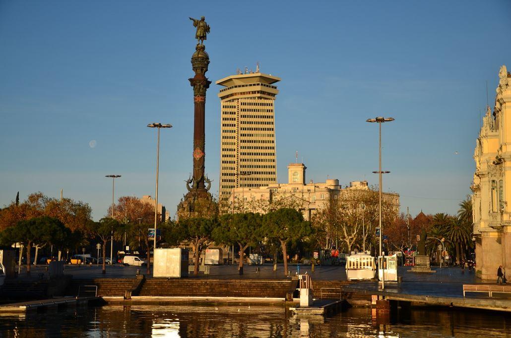 Mirador de Colom Barcelona Kolumbus Säule