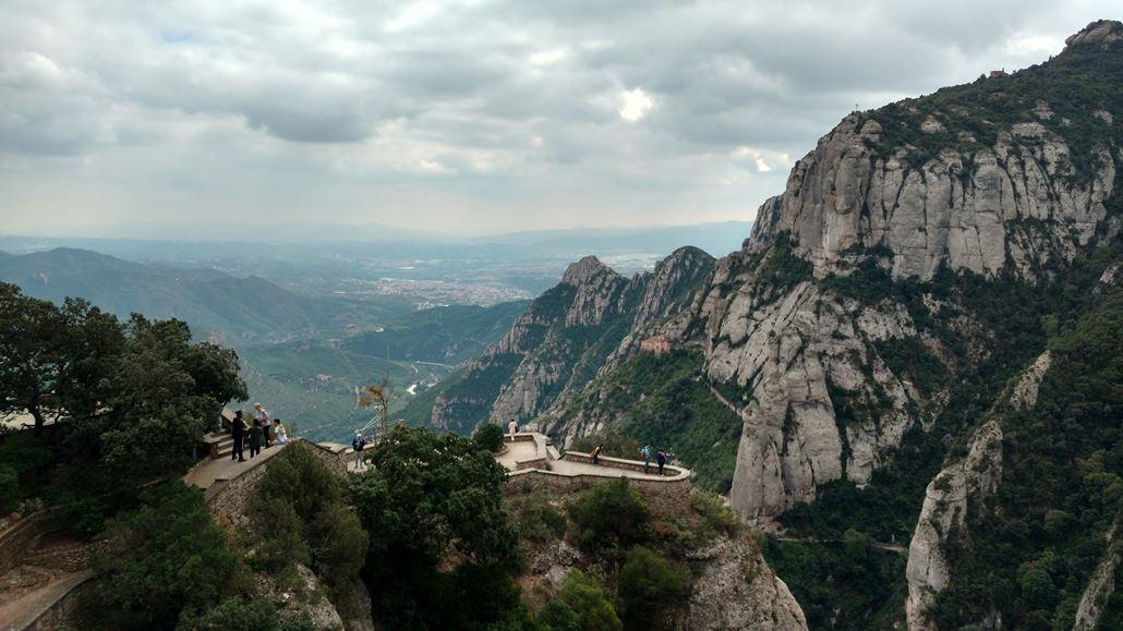 Montserrat Aussichtspunkt