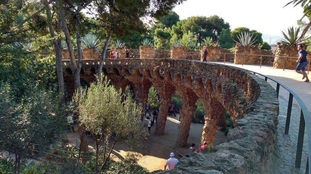Park Güell Brücke