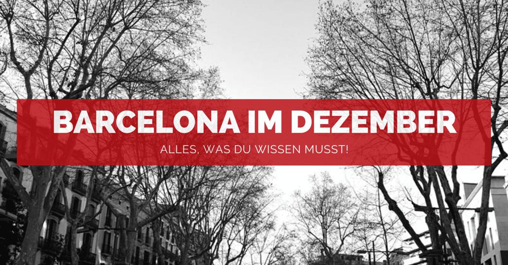 Barcelona im Dezember - FB