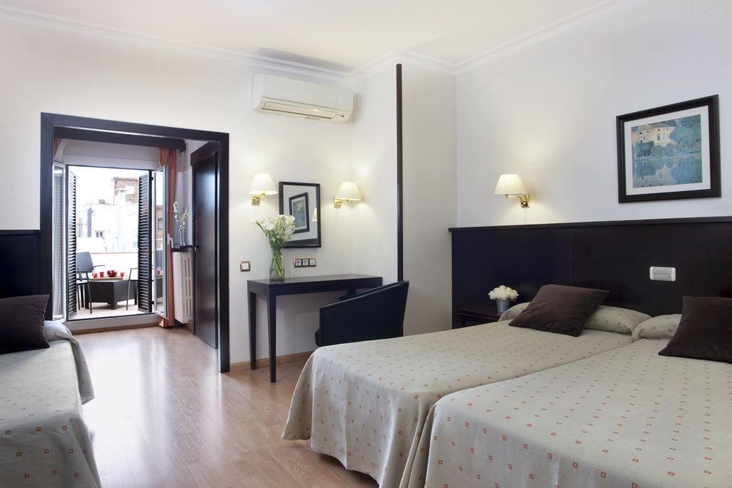 Gaudi Hotel Zimmer