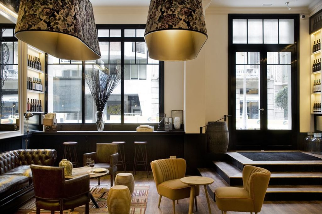 Hotel Praktik Vinoteca Lobby
