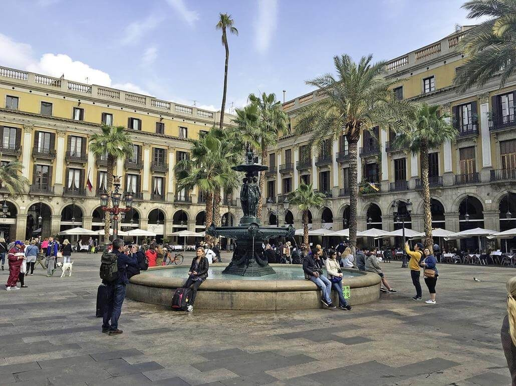 Barcelona Februar