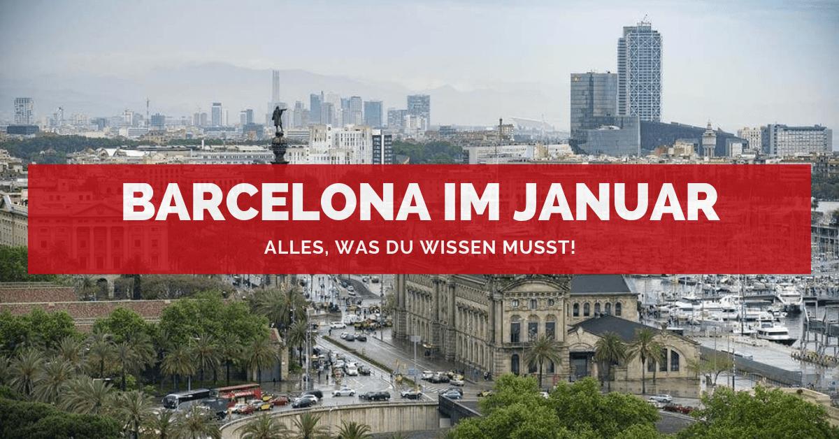 Barcelona Januar
