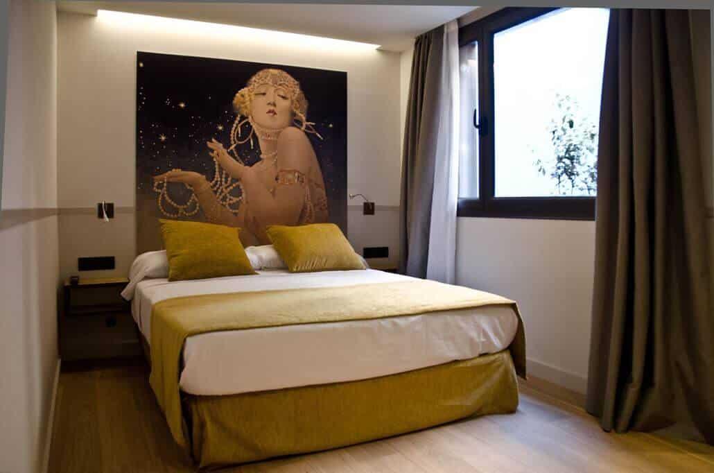 Casa Bella Gracia Zimmer Bett