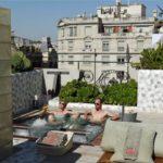 El Palauet Living Barcelona Dachterrasse Pool