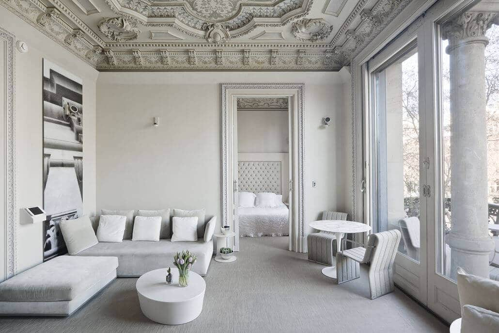 El Palauet Living Barcelona Wohnzimmer