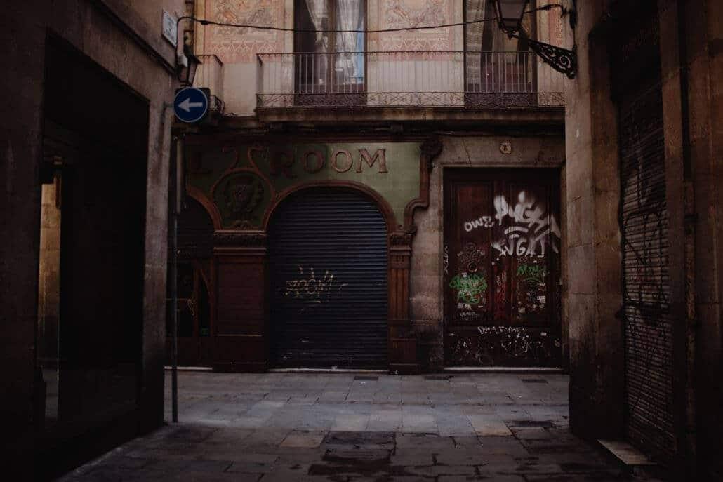 Stadtviertel Raval Barcelona