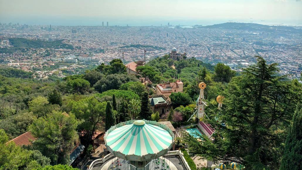 Ausblick auf Sarria St. Gervasi Barcelona