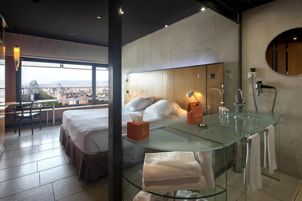 Barcelona Princess Hotel Zimmer