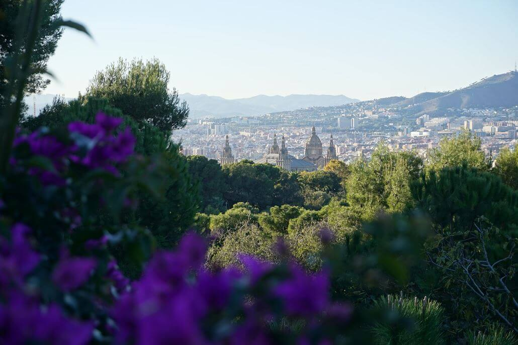 Barcelona im Mai