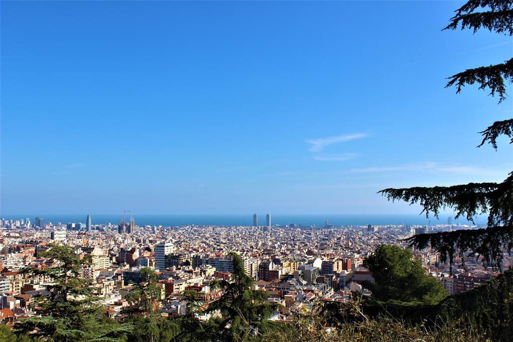 parc del turo del putxet barcelona