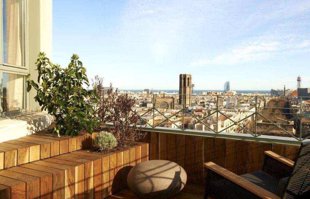 Le Meridien Hotel Barcelona Terasse