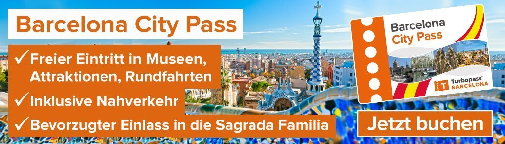Barcelona City Pass - Turbopass Banner Content