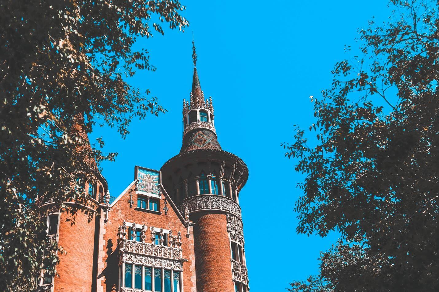 Casa de les Punxes in Barcelona - Top