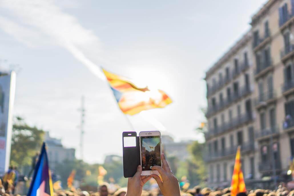 Diada de Catalunya Barcelona