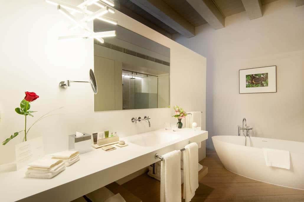 Mercer Hotel Barcelona Badezimmer