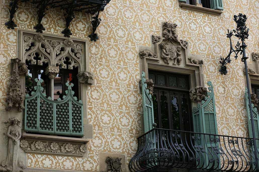 Casa Amatller Fassade