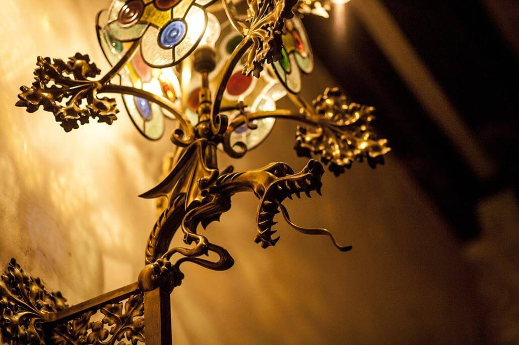 Casa Amatller Lampe