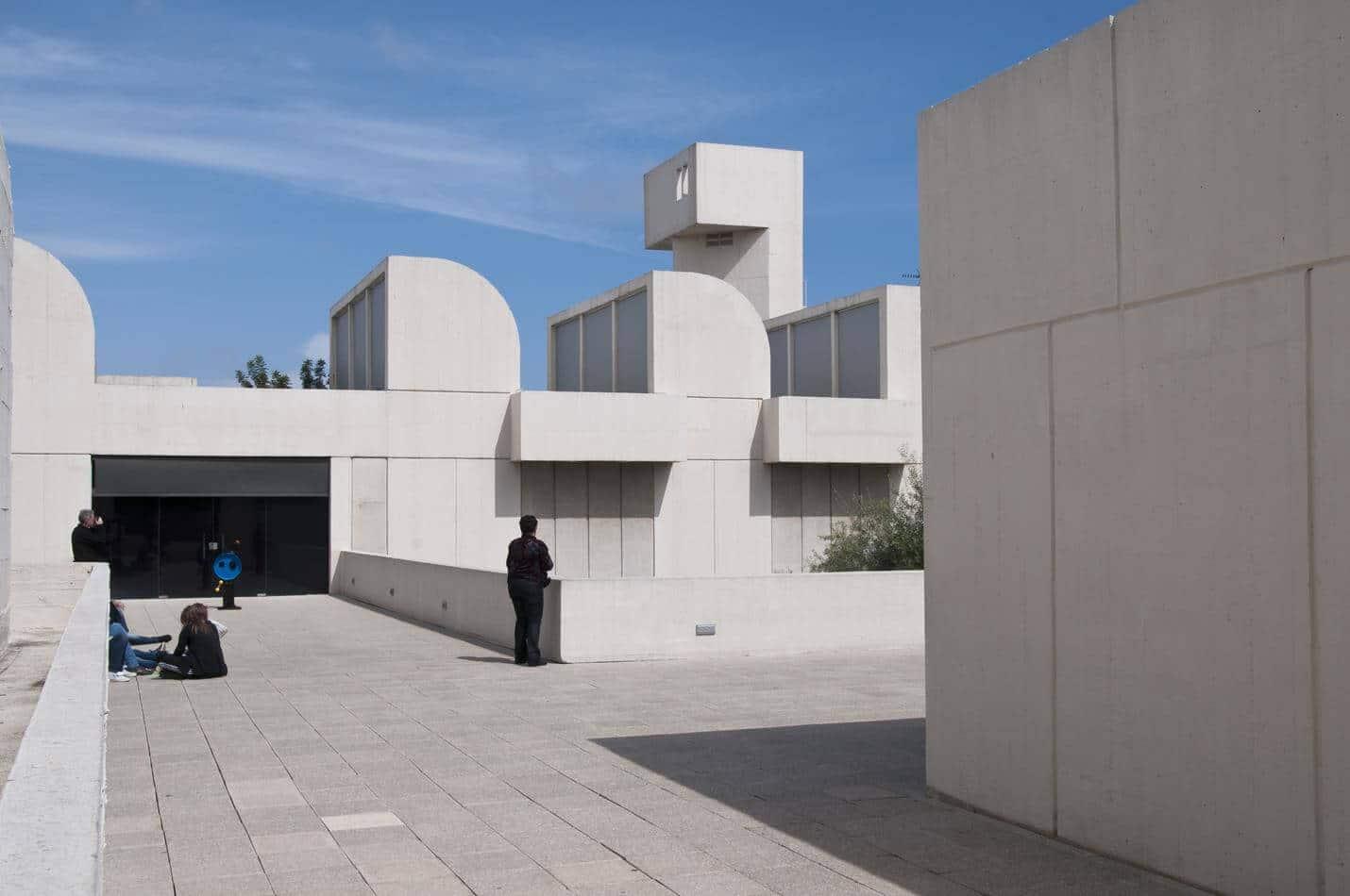 Fundació Joan Miró in Barcelona - Top