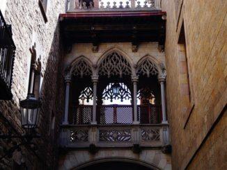 Barcelona Gotische Brücke