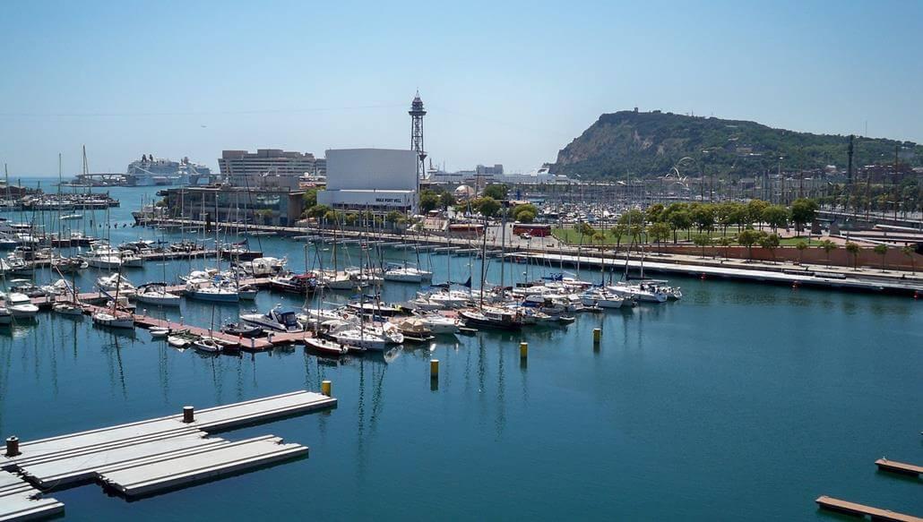 Barcelona Motorboot