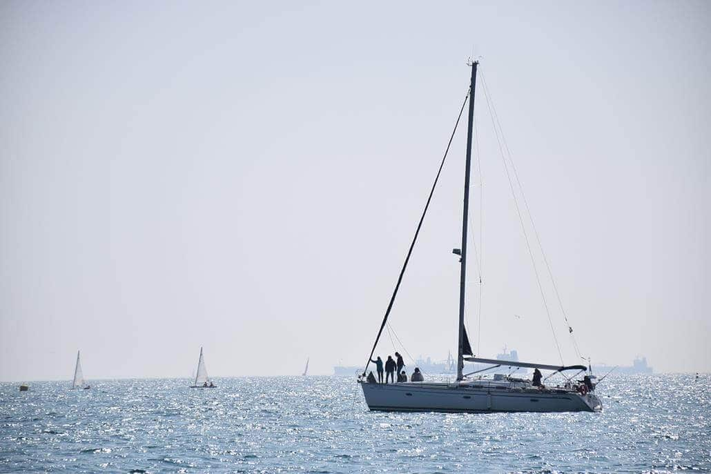 Barcelona Segelboot