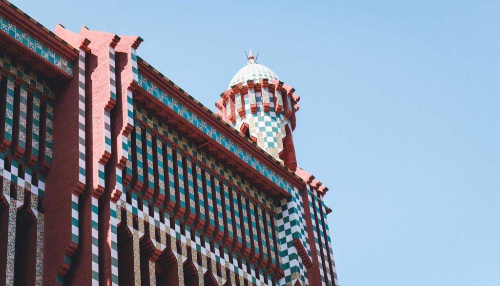 Casa Vicens in Barcelona - Top